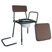 Stacking Commode Detachable Arms