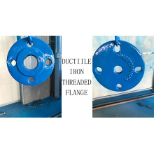 Ductile iron thread flange