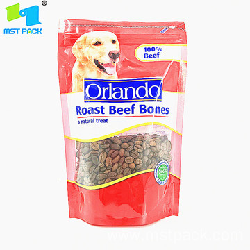 Pet Food Treats Biodegradable Packaging Bags