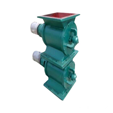 square valve actuator rotary discharge valve for unloading