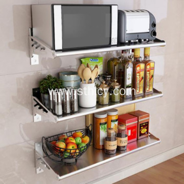 Kitchen Wall-mounted Multi-function Rack