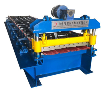 Single Layer Trapezoidal Steel Roof Roll Forming Machine