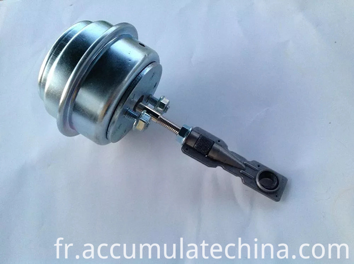 Turbo Wastegate Vacuum Actuator With Vnt 15 Turbocharger