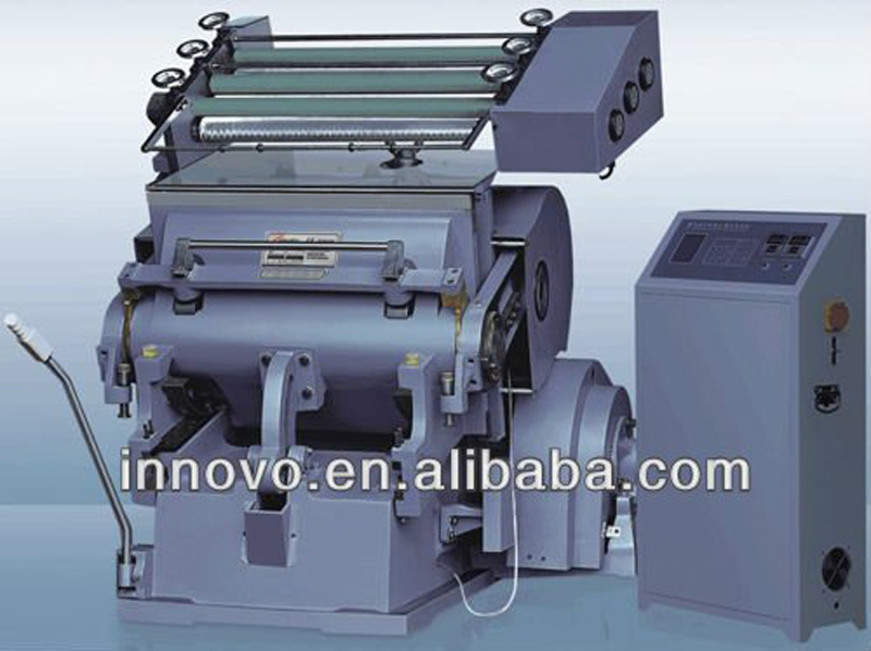 Folio Computerized hot stamping die Cutting Machine
