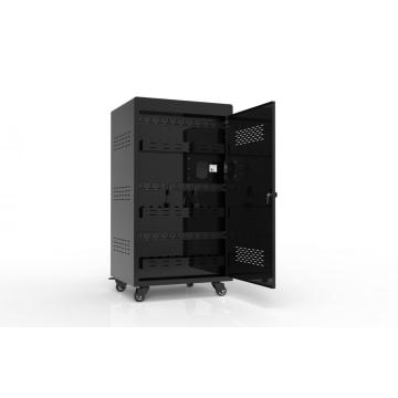 30 laptop charging computer cart with storage