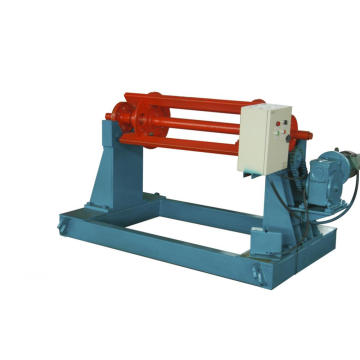 Electric Motor Decoiler Coil Machine