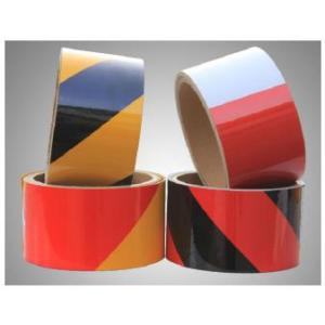 Factory Supply Factory price for Commercial Grade Reflective Sheeting PET Type Stripe Warning Tape supply to Nigeria Suppliers