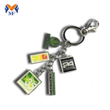 Good Quality for 3D Printed Keychain Metal logo printing keychain charms supply to Christmas Island Suppliers