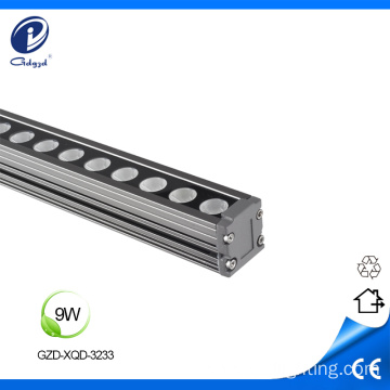 Good heat radiation aluminum 9W outdoor wall washer