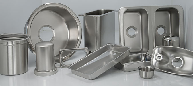 Customized Stainless Steel Varied Containers