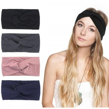 Headbands Women Vintage Headband Elastic Printed