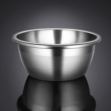 Food Grade Stainless Steel Deep Salad Bowl