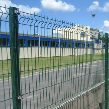 Welded Wire Mesh Fence Curved 3D Fold Fence