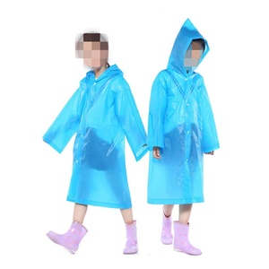 Factory Price for Transparent EVA Raincoat Children's Rain ponchos Portable Reusable Raincoats supply to Japan Manufacturers