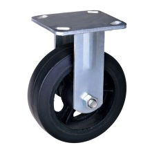 Newly Arrival for Heavy Duty Nylon Caster 4-inch rubber wheel heavy duty caster export to Dominica Supplier