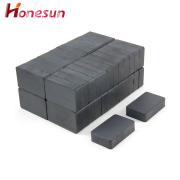 40x25x10mm block ferrite magnet cheap ceramic magnet price