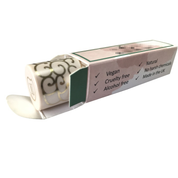 Custom Paper White Matte Lipstick Box