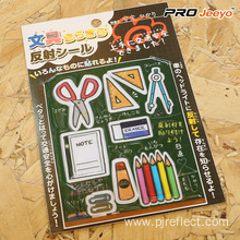 Waterproof PVC Stationery Stickers
