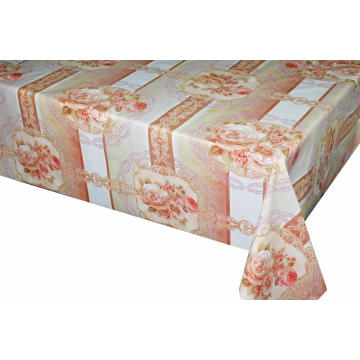 Elegant Tablecloth with Non woven backing Luncheon