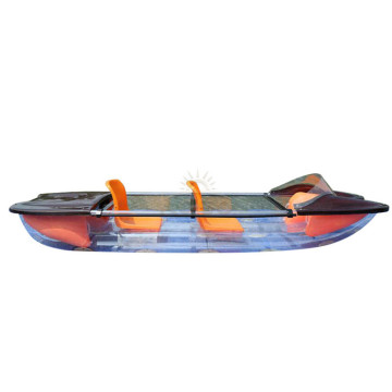 Fiberglass Pvc Kayak And Model Plastic Rowing Boat