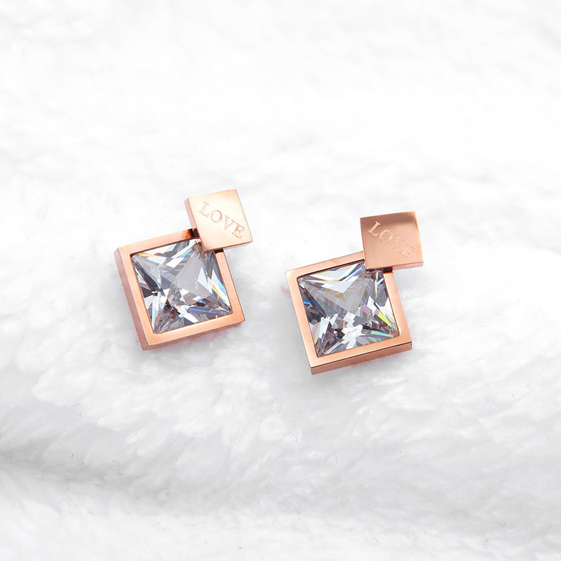 Trendy Stud Earrings