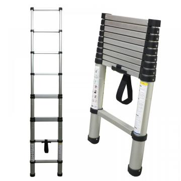 Single side aluminum telescopic ladder