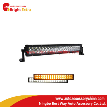 20 Years Factory for LED Strip Lights 120W Led Work Light Bar White And Amber supply to Cook Islands Manufacturer