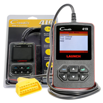 Launch CReader 419 DIY Scanner OBDII