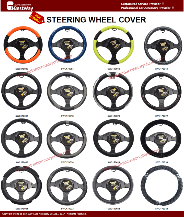 Car Steering Wheel Covers