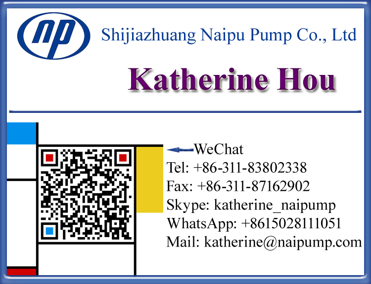 Katherine Hou Slurry Pump