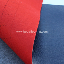 cheap linoleum flooring rolls felt backing pvc flooring