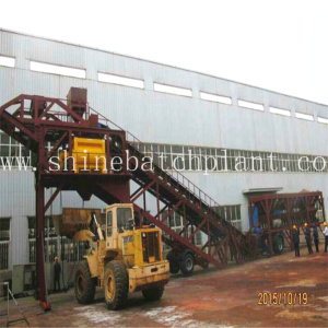 90 Construction Mobile Concrete Mixer Plant