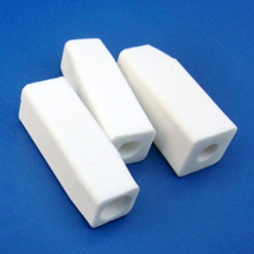 Square alumina ceramic tube