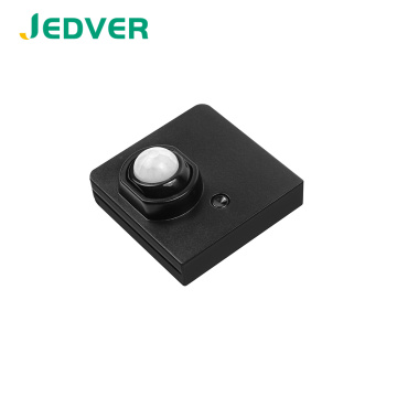 Replaceable Battery Wireless PIR Motion Sensor for Cabinet