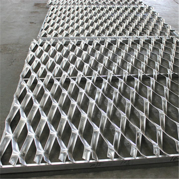 Galvanized Stretched Expanded Metal Mesh Small Hole
