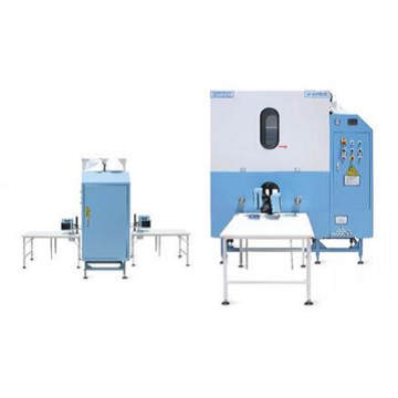2 Pipe Automatic Flow Down Feather Filling Machine