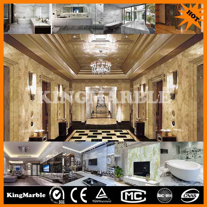 1220mm 2440mm pvc artificial wooden wall board for interior