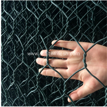 Galvanized and PVC Coated Gabions for Rabbit Cage