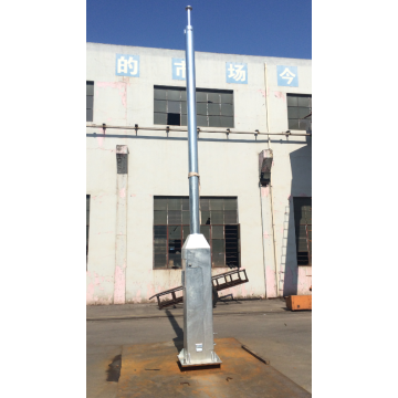 Hinged Camera Steel Mast