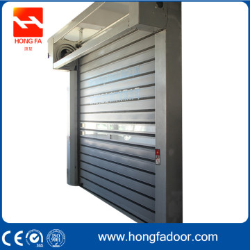 Electrical Aluminum Alloy Simple Hard Fast Door