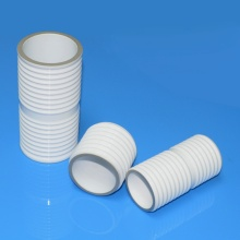 Alumina insulator for metal-ceramic transmitting tube