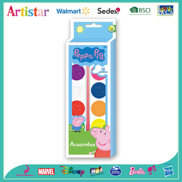 PEPPA PIG colour cake coloring set