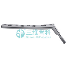DHS titanium locking plate dynamic hip screw