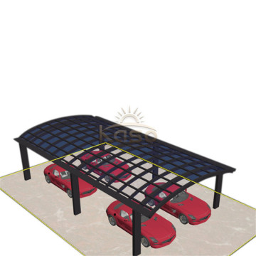 Durable And Sturdy Structural Frame Aluminum Carport Canopy