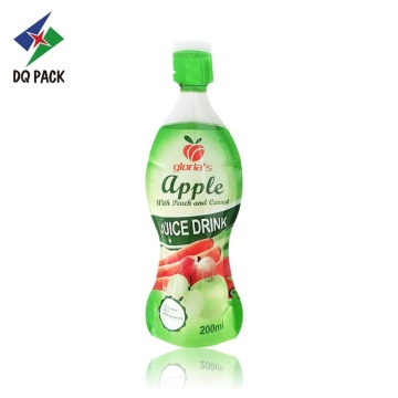 200ml bottle shape injection pouch for jelly juice