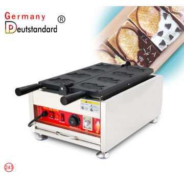 Electric ice cream taiyaki fish shaped waffle maker