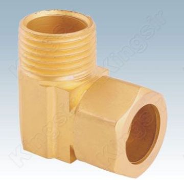 Discountable price for Elbow Pipe Fitting Brass Right Angle Duplex Fitting export to Slovakia (Slovak Republic) Manufacturers