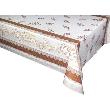Cheap Pvc Printed fitted table covers