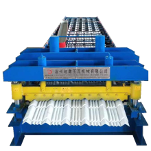 Metal Roof Glazed Tile Roll Forming Machinery