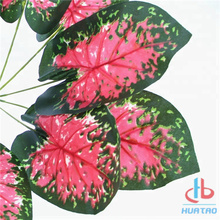 Artificial Red Anthurium Leaves
